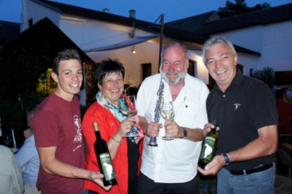 Dixie & Wine am Weingut Taubenschuss