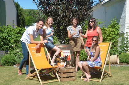 Sommer.Wein.Party im Weingut Neustifter in Poysdorf