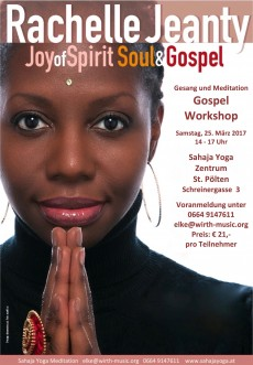 Rachelle Jeanty, Joy of Spirit Workshop