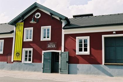 Das Weingut in Rohrendorf.