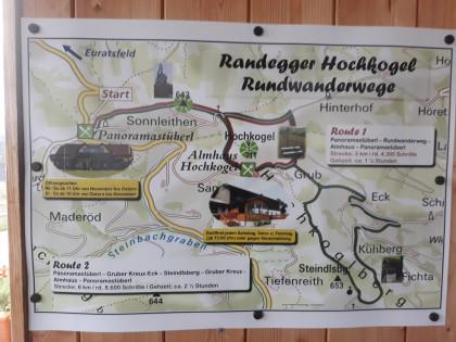 Wanderweg Hochkogel