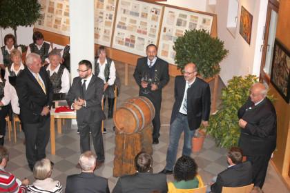 Pressefoto Weintaufe Mannsbart