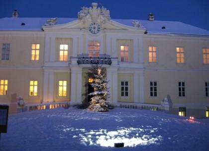 Advent im Liechtenstein Schloss Wilfersdorf