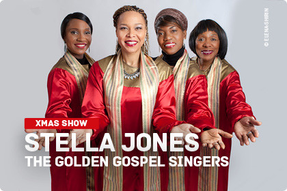 Stella Jones - The Golden Gospel Singers