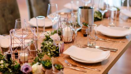 Hochzeitsfeiern in der Weinterrasse Pulkau