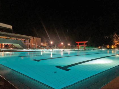 Linsberg Asia - Thermen Außenbereich bei der Langen Nacht der Therme