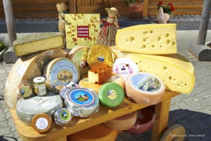 Käseprodukte von der Kashütte