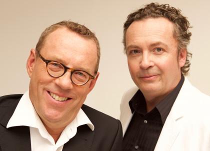 Herbert Steinböck und Thomas M. Strobl