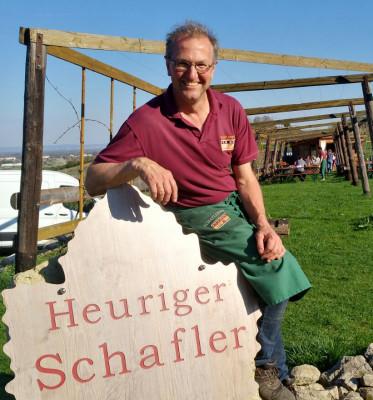 Schaflers Ausschank im Weingarten