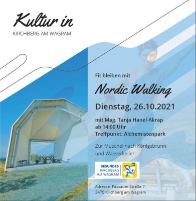 Fit bleiben mit Nordic Walking