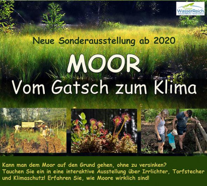 Sonderausstellung Moor 2020