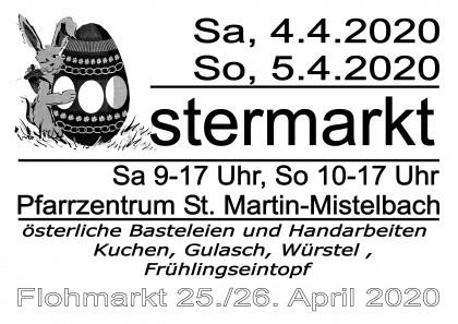 Ostermarkt der Pfarre Mistelbach