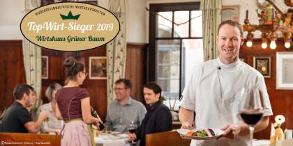 TopWirt Sieger 2019 - Wirtshaus Grüner Baum