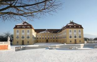Schloss Hof zur Winterszeit