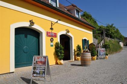 Weinkeller in der Rohrendorfer Kellergasse