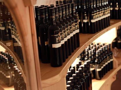 Weingut Fink, Weinflaschen