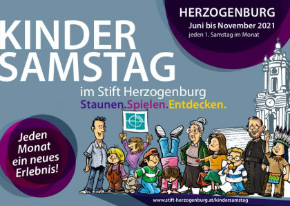 Flyer Kindersamstag 2021