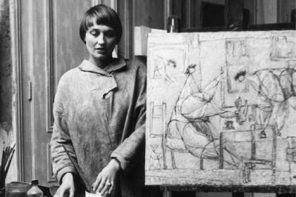 """Susanne Wenger, """"Die Vögel sind nicht eingeladen"""", 1947"""