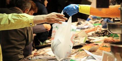 Fischverkauf auf Märkten
