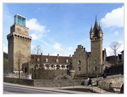 Außenansicht Schloss Rothschild