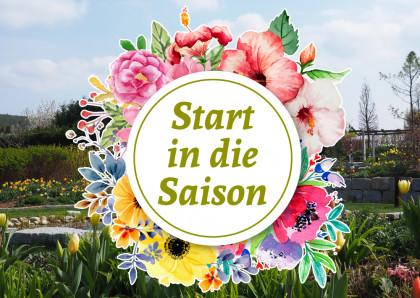 Start in die neue Gartensaison