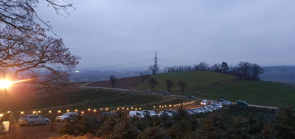 Blick von Christbaumerlebniswald Richtung St.Pölten