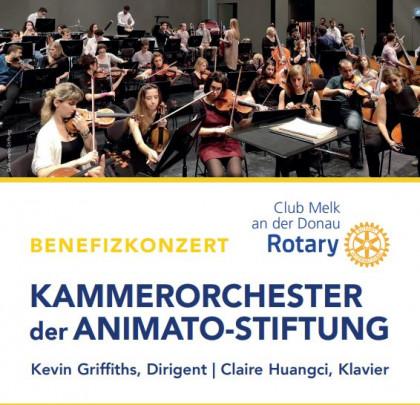 Konzert des Kammerorchesters der Animato-Stiftung mit jungen Musiker*innen