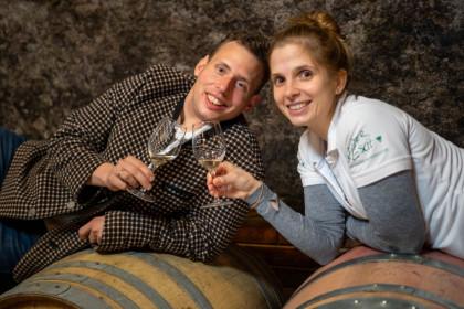 Das Winzerpaar Barbara und Johannes Beer