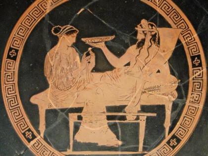 Persephone und Hades.