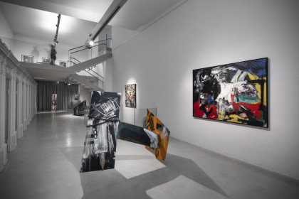 Emilio Vedova - Arnulf Rainer: Tizian schaut