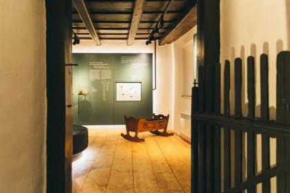 Haydn Geburtshaus Wiege