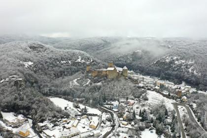 Winterliches Hardegg