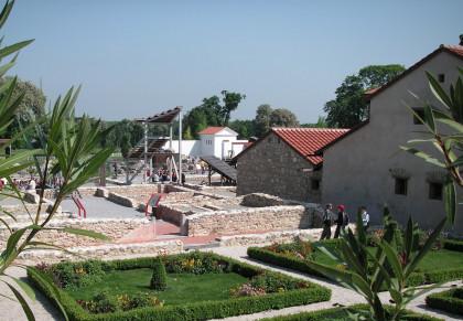 Römische Gärten