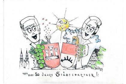 Karikatur von Ing. Robert Schörg