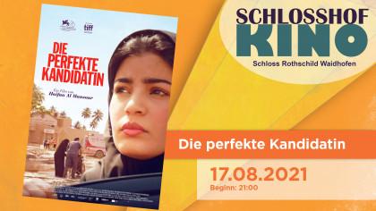 """Schlosshofkino """"Die perfekte Kandidatin"""""""