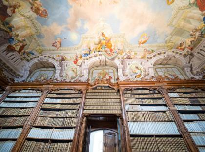 Die Bibliothek im Neukloster.