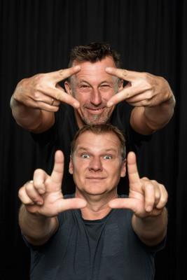 Pepi Hopf & Fredi Jirkal - das entzündliche Kabarett-Gemisch