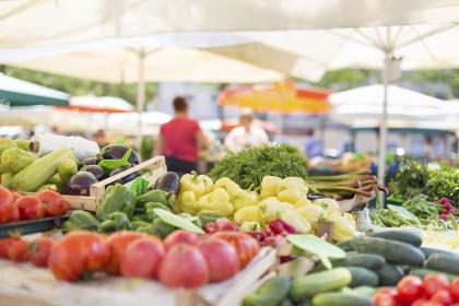 Regionale & saisonale Produkte beim Genussmarkt in Retz