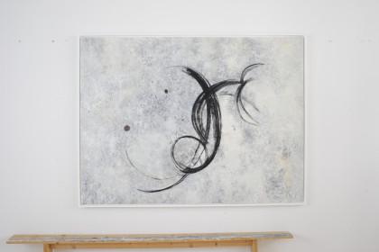Christine de Pauli  Ohne Titel, Eitempera, gerahmt, 160 cm x 120 cm