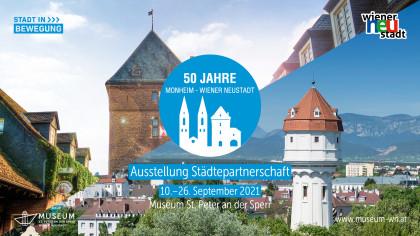 50 Jahre Städtepartnerschaft Wiener Neustadt - Monheim