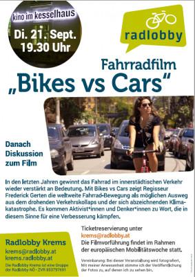 Plakat Fahrradfilm