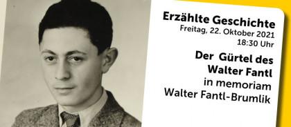 Erzählte Geschichte: Der Gürtel des Walter Fantl