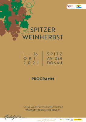 Spitzer Weinherbst 2021 - Programm
