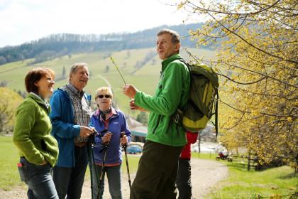 Naturvermittler und Wanderer