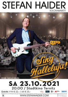 Stefan Haider: Sing Halleluja - Plakat