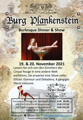 Burlesque Dinner & Show