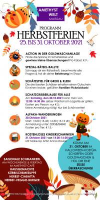 Spiel & Spaß in den Herbstferien Programmübersicht