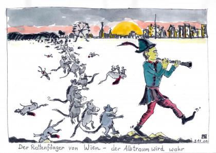 Der Rattenfänger von Wien - der Albtraum wird wahr