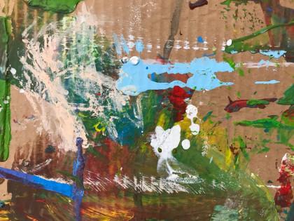 Spuren künstlerischer Arbeit - ein Werk für sich