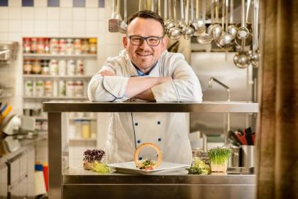 Küchenchef Markus Bsteh